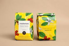 Great illustrations and bold colors is the the for the key for the great and colorful coffee packaging design for Roastorium Coffee. Coffee Barista, Coffee Creamer, Starbucks Coffee, Coffee Humor, Coffee Drinks, Coffee Shop, Funny Coffee, Coffee Coffee, Coffee Lovers