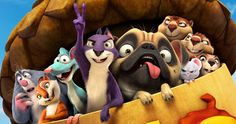 Nut Job 2 Trailer Reunites Surly and the Gang -- Will Arnett returns to voice Surly the Squirrel, who rounds up his animal friends to save their park in the trailer for The Nut Job 2 -- http://movieweb.com/nut-job-2-trailer/