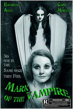 """Mark of the Vampire"" (1935) - Movie poster"