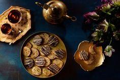 Flourless Almond Cookies With Cardamom, Orange Zest, and Pistachios #glutenfree