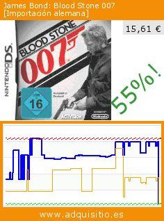 James Bond: Blood Stone 007 [Importación alemana] (Videojuegos). Baja 55%! Precio actual 15,61 €, el precio anterior fue de 34,84 €. https://www.adquisitio.es/activision/james-bond-blood-stone-1