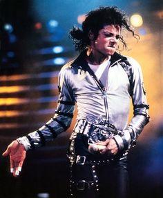 Michael Jackson on the Bad Tour