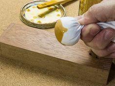 Faça você mesmo: Boneca para Envernizar Madeira - YouTube