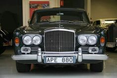 1967 Bentley T1 2 Door  FHC Saloon by James Young  1 of only 11 LHD T1  This is the 67 Paris Motorshow car