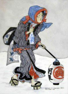ukiyo e by Utagawa Kunisada