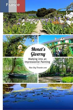 To visit Monet's Giverny is to walk into an Impressionist painting. See the inspiration for the famous paintings of water lilies, flowers gardens & the Japanese bridge.