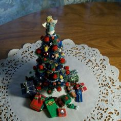 Miniature Christmas Tree Made to Order 6 inch by wonderworks, $50.00