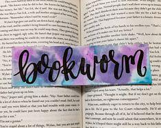 Homemade Bookmarks, Best Bookmarks, Bookmarks For Books, Creative Bookmarks, Bookmark Craft, Bookmark Ideas, Watercolor Bookmarks, Watercolour, Harry Potter Bookmark