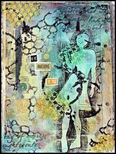 Scrappiness: Et par eller 4 Art Journaling..