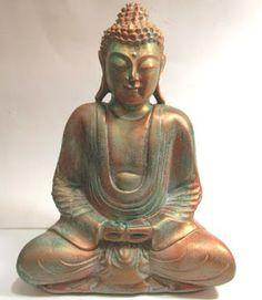 Ateliê Le Mimo: ORIENTAIS Buda Tibetano médio. Peça em gesso