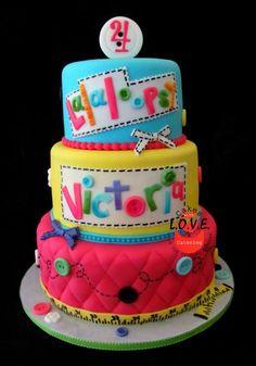 Lalaloopsy cake  - *
