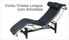 Corbu Chaise Longue  Le Corbusier