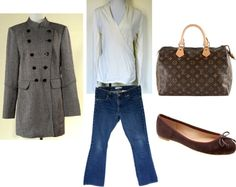 """""""Fall Browns"""" by closetdash on Polyvore"""