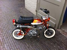 Small Motorcycles, Honda Motorcycles, Custom Mini Bike, Four Stroke Engine, Honda Ruckus, Honda Cub, Minibike, Mini Mini, Go Kart