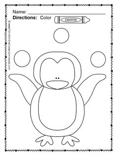 Color For Fun Penguin Printable Coloring Pages This Is