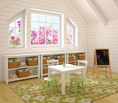 Fresh Playroom and Guest Room