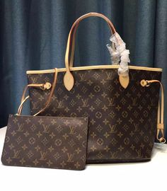 Louis Vuitton Monogram Canvas Neverfull MM M40995.  View more LV monogram bags at http://luxtime.su/louis-vuitton-handbags/monogram-canvas