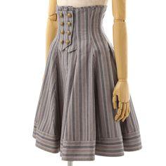 '16SP Locksmithコルセットスカート