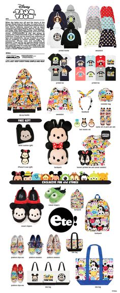 Chocoolate x ete! x Tsum Tsum Collaboration - OMG the hoodie!