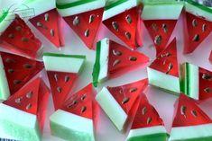 Galaretkowe arbuzy – Smaki na talerzu Kids Meals, Watermelon, Impreza, Food And Drink, Sweets, Fruit, Birthday, Cupcake, Cakes