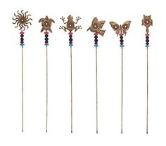 Benzara Creative Styled Metal Bead Garden Stake -- Be sure to check out this awesome product.