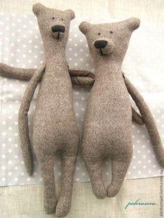 Шьем текстильных мишек Гилберта и Энджи - Ярмарка Мастеров - ручная работа, handmade