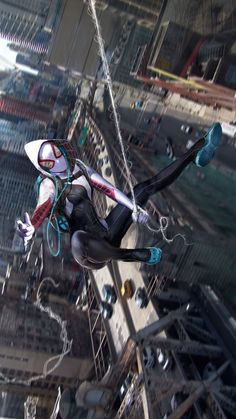 Spider-Gwen by John Gallagher *