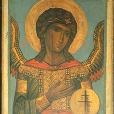Saint Michael · The Sinai Icon Collection Saint Gabriel, Byzantine Icons, Saint Michel, Icon Collection, Orthodox Icons, St Michael, Jesus Christ, Saints, Religion