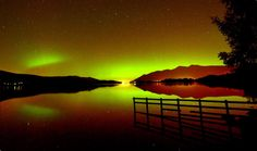 This may look like a scene from a Norweigan fjord, but it's actually the Lake District in Cumbria. The Aurora Borealis is reflected in the glass-like waters of Derwentwater, near Keswick, during a geomagnetic storm Picture: Paul Kingston / NNP Lake District, Aurora Borealis, Nature Images, Nature Photos, Pictures Of The Week, Cool Pictures, Beautiful Pictures, Storm Pictures, Northen Lights