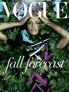 by Steven Meisel for Vogue...