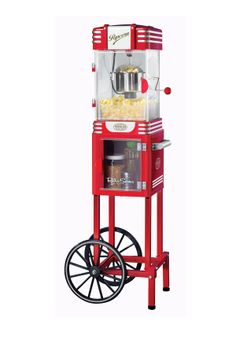 "Nostalgia Electrics Retro Series 48"" Kettle Popcorn Cart on HauteLook"