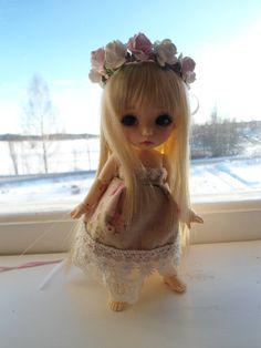 Rosefairy dress set for Pukifee and similar sized dolls via Etsy