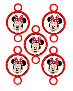 Minnie Mouse Party: Horn Blowers.