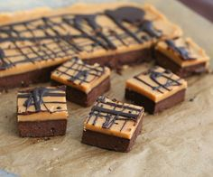 Peanut Butter Fudge Brownies- low carb, gluten free, low sugar