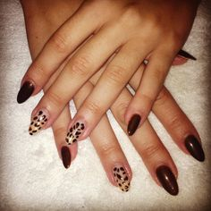 Long nails. Gel polish :)