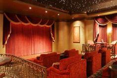 cinemashop cinecurtain custom home theater curtains theater room pinterest black. Black Bedroom Furniture Sets. Home Design Ideas