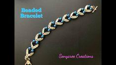 Lovely Hearts Bracelet. DIY Beaded Bracelet. How to make beaded Bracelet 💞 - YouTube