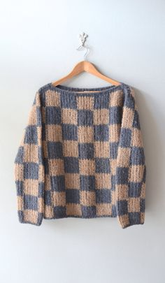 Caffe Greco sweater / vintage 1960s sweater / wool by DearGolden, $74.00