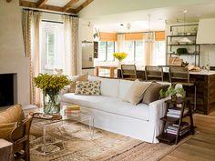 colore pareti di casa, abbinamenti - zona giorno beige e bianca ... - Zona Giorno Open Space