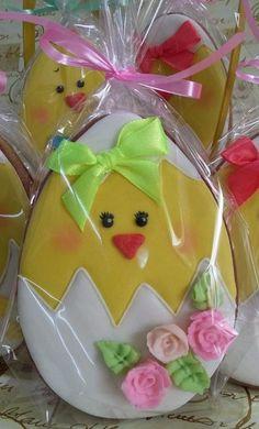 Paty Shibuya: Cupcakes e Cookies de Páscoa
