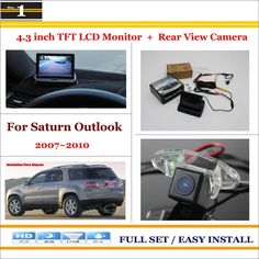 4 LED Car Rear View Camera Reverse Backup CCD for Toyota Verso 2010-2012 2011