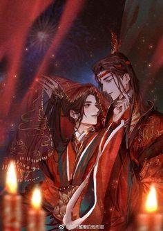 Oh my gosh, the wedding time of Wei Ying and Lan Zhan! GDC, best Yaoi/BL novel Free read the best Yaoi/BL novels on Animé Fan Art, Anime Triste, Anime Kunst, Chinese Art, Asian Art, Anime Couples, Manga Anime, Illustration, Chibi