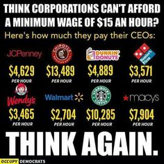 CEO'S get paid but we don't?