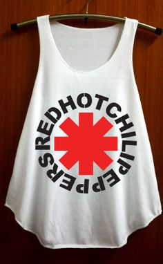 Red Hot Chili Peppers Shirts Top Tank Top Star shirt by ABBEYSTORE, $14.99