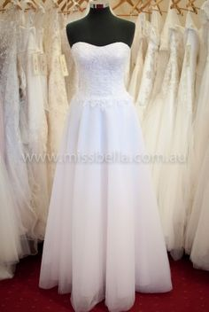 Miss Bella has THE LARGEST Range of Brand-New, In-Store Deb Dresses in Melbourne. We have over Deb Dresses to buy off the rack! Deb Dresses, Plus Size Dresses, Debutante Dresses, Bella Bridal, Straight Dress, Plus Size Wedding, Corset, Bodice, White Dress