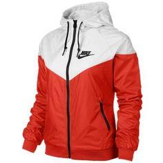 Nike Windrunner Jacket - Women's - Daring Red/White/Black