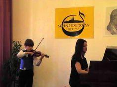 F.Kuchler-Concertino G-dur op.11,J.P. Rameau-Rigaudon; Huslova sutaz SCHNEIDEROVA TRNAVA […]-zlate pasmo v I.kategorii—See more of young violinist #sonB_from_cibulky
