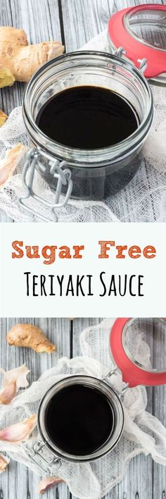 Sugar Free Teriyaki Sauce. Less sweet, and better for you, than other sugar-laden recipes.