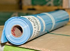 Dream Home - 6mil Poly Sheeting- 300 sft per roll $19.99 = .66 per sq ft