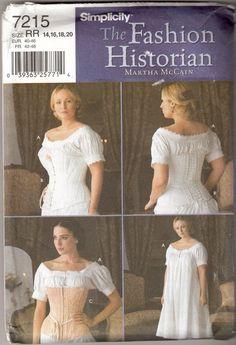 42b34e18c20 Martha Washington sewing Costume Pattern